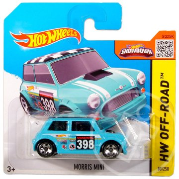 Hot Wheels Off-Road: Morris Mini kisautó