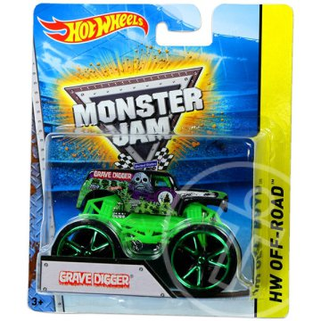 Hot Wheels Off-Road: Monster Jam terepjáró - Grave Digger