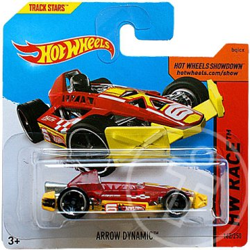 Hot Wheels: Arrow Dynamic piros kisautó 1/64 - Mattel