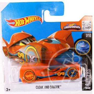 Hot Wheels: Cloak and Dagger kisautó 1/64 - Mattel