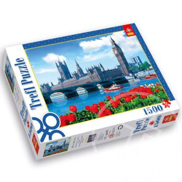 Parlament London Anglia 1500 db-os puzzle - Trefl