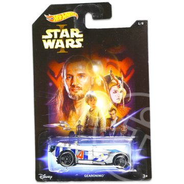 Hot Wheels: Star Wars - Gearonimo kisautó