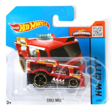 Hot Wheels: Chill Mill kisautó 1/64 piros - Mattel