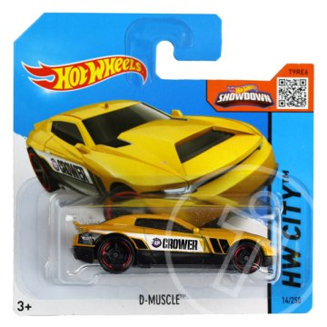 Hot Wheels City: D-Muscle kisautó