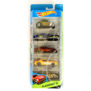 Hot Wheels: Flashfire 5db-os kisautó szett - Mattel