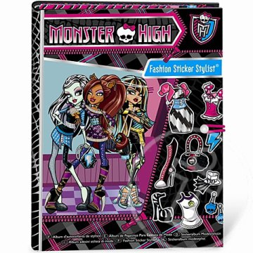Monster High Divatmatrica készlet - Fashion Angels