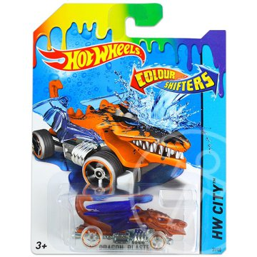 Hot Wheels City: színváltós Dragon Blaster kisautó
