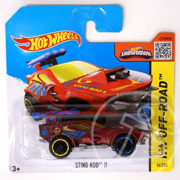 Hot Wheels: Sting Rod II bordó kisautó 1/64 - Mattel