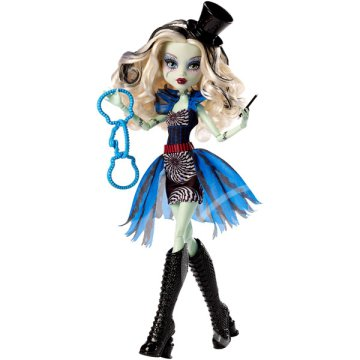 Monster High: Frankie Stein széprém baba
