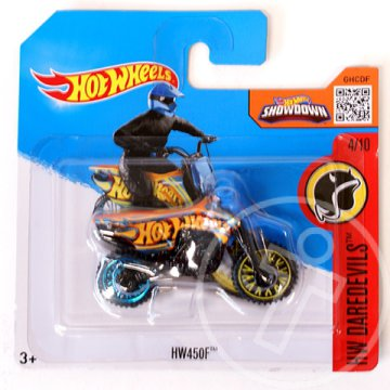 Hot Wheels: HW450F motor 1/64 - Mattel
