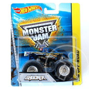 Hot Wheels Monster Jam: Shocker Monster kisautó 1/64 - Mattel