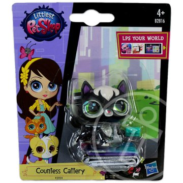 Littlest PetShop: 1 db-os készlet - Countess Cattery