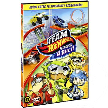 Team Hot Wheels: Felpörög a buli! DVD
