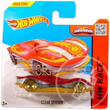 Hot Wheels Race: Clear Speeder kisautó
