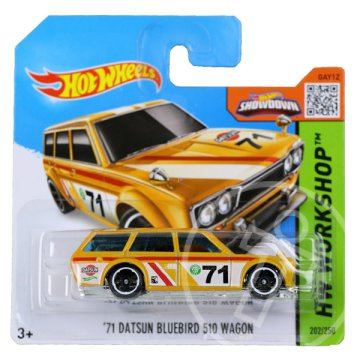 Hot Wheels Workshop: 71 Datsun Bluebird 510 Wagon kisautó
