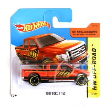 Hot Wheels: 2009 Ford F-150 kisautó 1/64 - Mattel