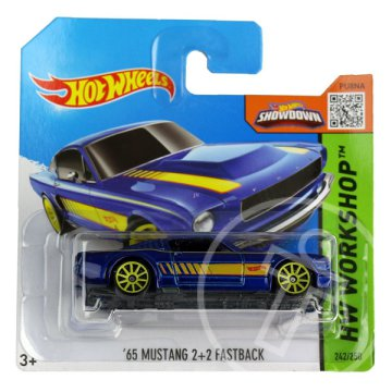 Hot Wheels Workshop: 65 Mustang 2+2 Fastback kisautó
