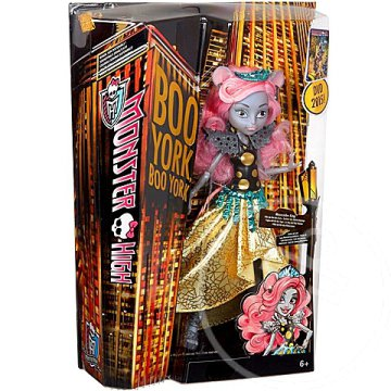 Monster High: Boo York Mouscedes King baba kiegészítőkkel - Mattel