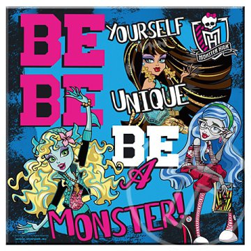 Monster High fali kép