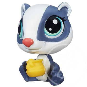 Littlest Pet Shop: Honey Badger kiskedvenc figura - Hasbro
