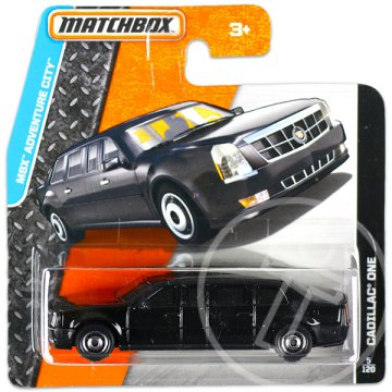 Matchbox MBX Adventure City - Cadillac One