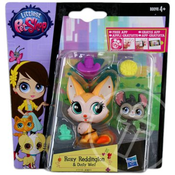 Littlest PetShop: 2 db-os készlet - Roxy Reddington és Dusty West