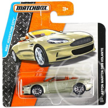 Matchbox MBX Adventure City - Aston Martin DBS Volante