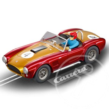 "Carrera Evolution: SHELBY COBRA 289 ""UNIVERSAL MEMORIES"" 1/32 pályaautó"