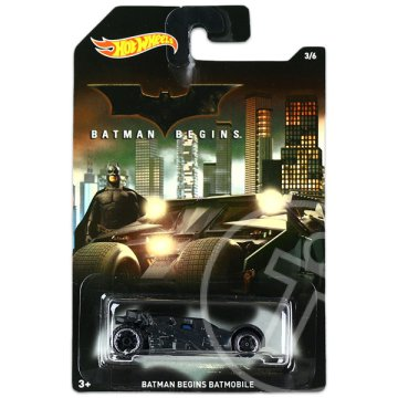 Hot Wheels: Batman kisautók - Batman Begins Batmobile