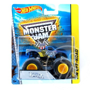 Hot Wheels Monster Jam: Big Kahuna Monster kisautó 1/64 - Mattel