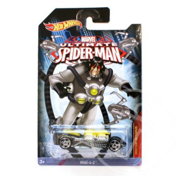 Hot Wheels Pókember: Doctor Octopus WHAT-4-2 kisautó 1/64 - Mattel