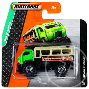 Matchbox: MBX Explorers: Travel Tracker kisautó - zöld