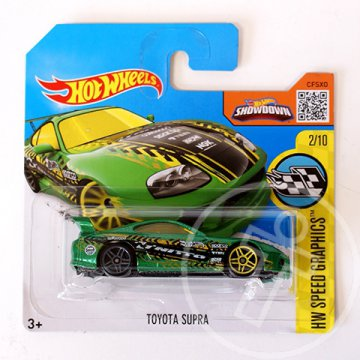 Hot Wheels: Toyota Supra kisautó 1/64 - Mattel