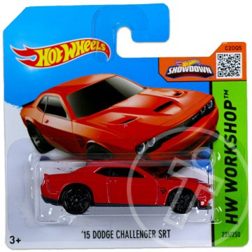 Hot Wheels Workshop: 15 Dodge Challenger SRT