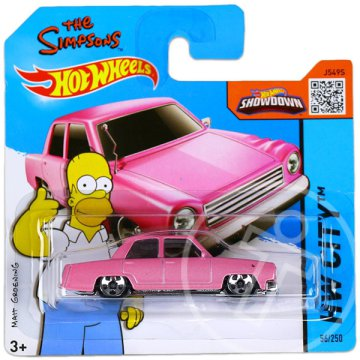 Hot Wheels City: Homer pink családi autója
