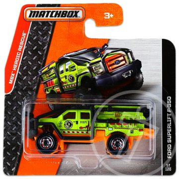 Matchbox: MBX Heroic Rescue: Ford Superlift F-350