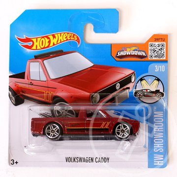 Hot Wheels: Volkswagen Caddy kisautó 1/64 - Mattel