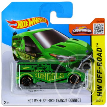 Hot Wheels Off-Road: Ford Transit Connect kisautó - zöld