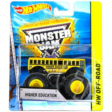 Hot Wheels Off-Road: Monster Jam terepjárók - Higher Education