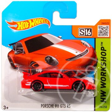 Hot Wheels Workshop: Porsche 911 GT3 RS kisautó 2