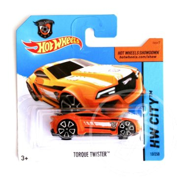 Hot Wheels: Torque Twister kisautó 1/64 - Mattel