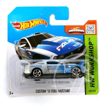 Hot Wheels: Custom ''12 Ford Mustang kisautó 1/64 - Mattel