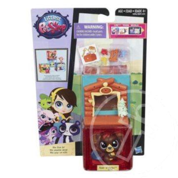 Littlest Pet Shop: Mini Style szett Alder Waterley hóddal - Hasbro