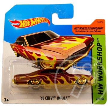 Hot Wheels Workshop: 65 Chevy Impala kisautó