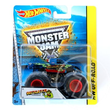 Hot Wheels Monster Jam: Instigator Monster kisautó 1/64 - Mattel