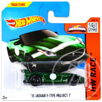 Hot Wheels Race: 15 Jaguar F-Type Project 7