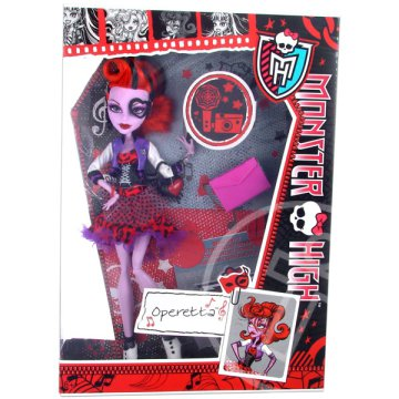 Monster High: Picture Day Operetta kiegészítőkkel