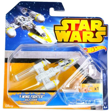Hot Wheels: Star Wars - Y-Wing Fighter Gold Leader
