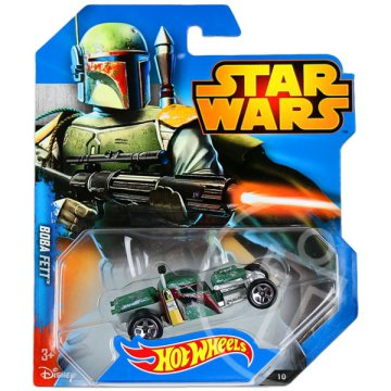 Hot Wheels: Star Wars kisautók - Boba Fett