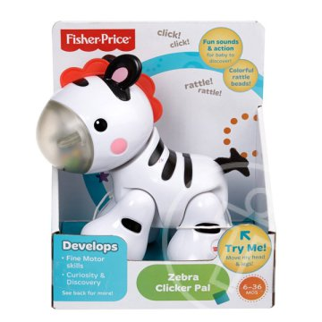 Fisher-Price Kitt-katt zebra